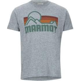 Marmot Marmot Coastal SS Tee Men Ash Heather
